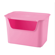 Fashionable Pure Color Plastic Storage Container (SLSN003)
