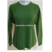 Venta caliente más color de Navidad pullover
