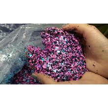 Kosmetischer gemischter klumpiger Glittergroßverkauf loser Lidschattenglitter