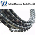 Marble Stone Quarry Diamond Wire Rope Saw for Cutting