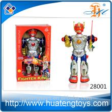 2016 Hot Sale ABS Plastic Battery operated Talking toy robot for sale