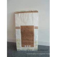 Akzeptieren Sie benutzerdefinierte Bestellung Clupak Kraftpapier Zement Tasche