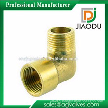 good selling customized HPB59-3 or 59 forged copper/brass pipe fitting 22.5 degree elbow