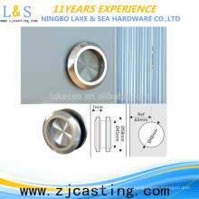 Ningbo factory stainless steel tempered glass door hardwares