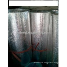 Pattern aluminum foil roll