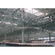 Sistema de armazón de espacio prefabricado Almacén industrial