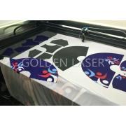 Lycra Fabric Laser Cutter for Swimwear Print Design