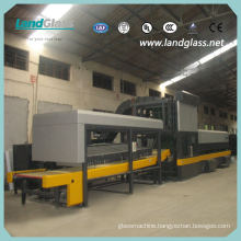 Landglass Horizontal Roller Hearth Bent Tempered Glass Furnaces