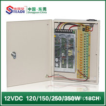 18 Saluran Power Supply Box 12V20A