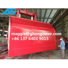 GHE Hot Sale 25T Electric-Hydraulic Clamshell Grab Bucket Motor Grab Marine Grab