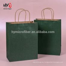 colorido bolsa de papel respetuosa del medio ambiente