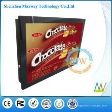 Soporte para montaje en pared VESA Reproductor lcd para publicidad digital de 15 pulgadas