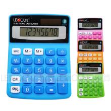 8-значный двухцветный мини-настольный калькулятор (LC208C)