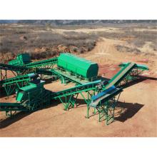 Ligne de production de carbonisation des déchets municipaux, système de tri et de recyclage des déchets municipaux