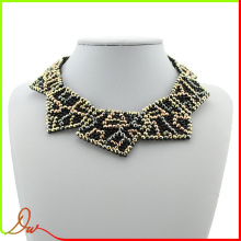 2014 cheapest high quality zinc alloy plated copper fashion black coral jewelry necklace