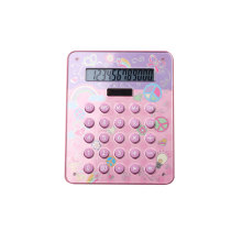 Dual Power Business Desktop Calculator with Round Button