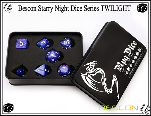 Starry Night Dice-18