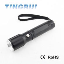 Высокое качество Rechargable фонарик Zoom Focus Led факел света