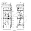 Mobile Port Hopper - Dust Collector Hopper Machine Track Orbit Type