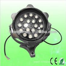 AC100-240V ip65 impermeable 12w 18w llevó el proyector al aire libre