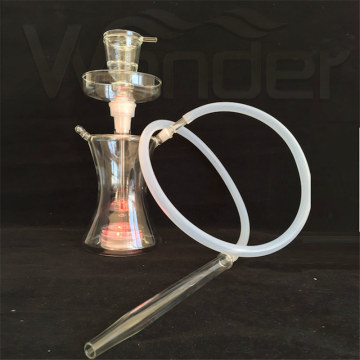 Le meilleur matériau de verre de qualité Shisha Nargile Smoking Pipe Hookah