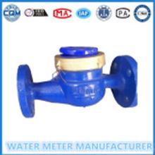 """निकला हुआ किनारा पानी मीटर थोक मीटर Dn 20 मिमी (3/4"""") के लिए युग्मन"""