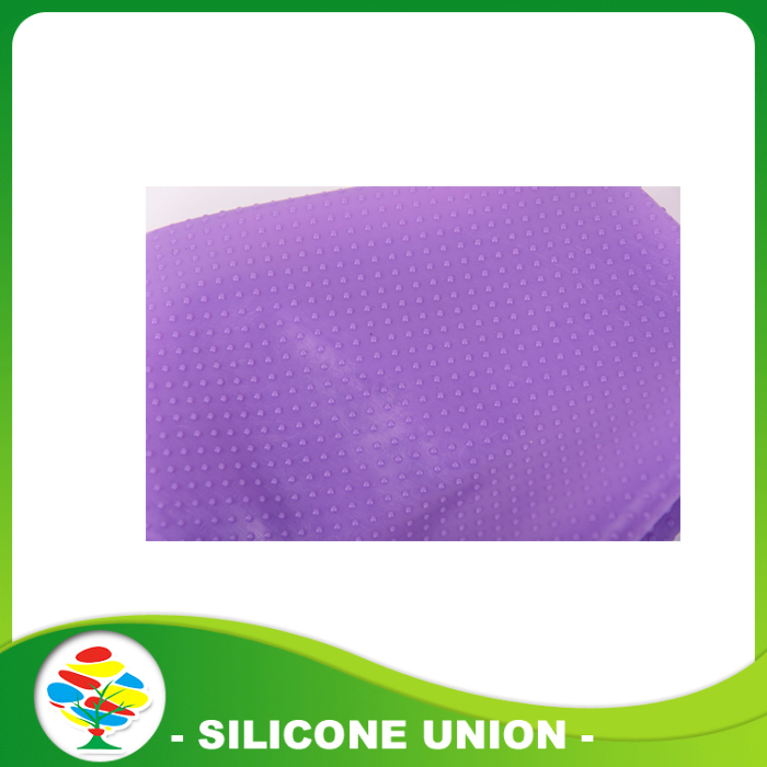 Purple Siliocne swimming cap