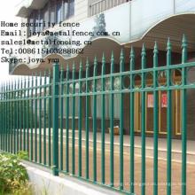 Portão de cerca de ferro forjado