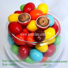 Cacahuete al por mayor dentro de granos de chocolate colorido