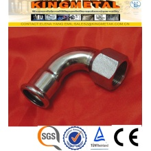 F304/316 Stainless Steel Press Fittings Female Threaded Pess Ebow