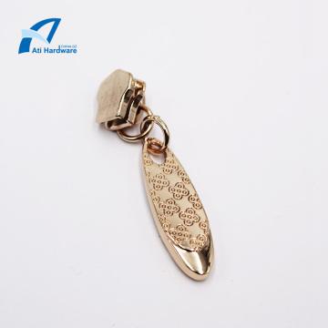 Decorative Design Metal Zipper Puller Bag Accessories