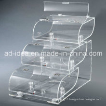 Special Design Acrylic Display Stand for Supermarket Food Promotion (YT-33)