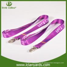Heiße verkaufende kundenspezifische Größe Wärmeübertragung Lanyard mit Qualität für Förderung
