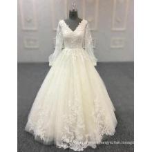 abito da sposa champagne wedding dress bride gowns 2018