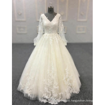 abito da sposa champagne wedding dress bride gowns 2018