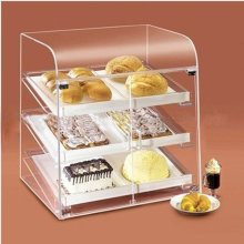 Pop Acrylic Display Shelf for Cakes, Publicitário Acrílico Display Stand