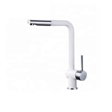 YL-80531B Unique pull out hot and cold water single handle brass material kitchen mixer faucet quality kitchen tap