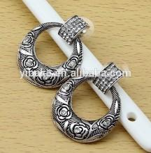 cheap jewelry pendant flower earrings for woman alloy retro earring