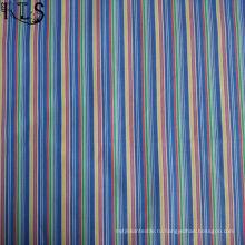 Хлопок в полоску Поплин тканые пряжи, окрашенной ткани для одежды рубашка/платье Rls60-14po