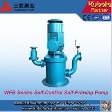Pompe auto-amorçante verticale du fabricant professionnel