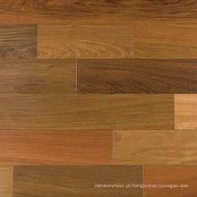 Revestimento interno liso da madeira maciça de IPE natural