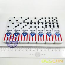 Popular Double Six Domino Set of Puerto Rico