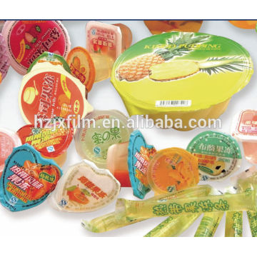 CPP metallized polyester film with sealing for jelly