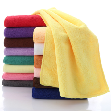 Stock Available Warp Knitting 260gsm Microfiber Towel