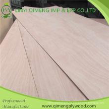 3mm 5mm 9mm 12mm 15mm 18mm Bbcc Grade comercial madera contrachapada de Linyi Qimeng