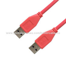 USB 3.0 Male-male Data Charging Cable, Plug-and-Play Function Compatible