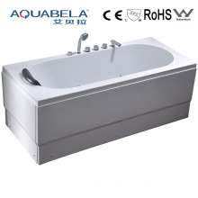Skirted Whirlpool Bath Tub with Massage System Relaxing Body Bath