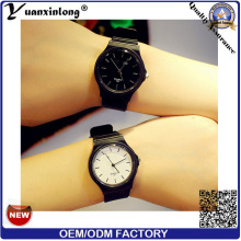 Yxl-193 Fashion Vogue Ladies Watch Quartz Casual Sport Men Wrist Watch Simple Design Custom Logo Watches