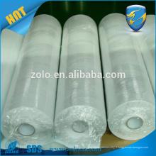 Matériaux d'étiquettes en vinyle destructibles personnalisés, rouleaux de papier autocollants en coquille vierge, matériaux d'autocollants de sécurité