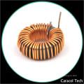 Inducteur 33mh 4A de blessure de vent de fil de bobine d'immersion de T50-125 pour des transformateurs actuels de sens